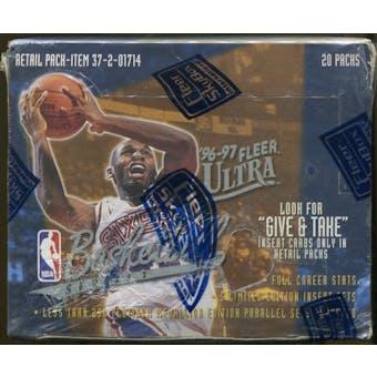 1996/97 Fleer Ultra Series 2 Basketball Retail Box