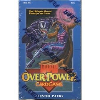 Marvel Over Power Booster Box (1995 Fleer)