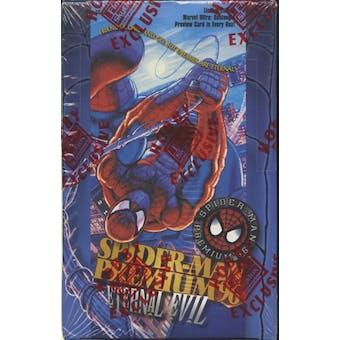 Spiderman Premium Eternal Evil Hobby Box (1996 Fleer)