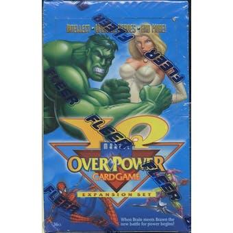 Marvel Over Power IQ Expansion Set Box (1996 Fleer)