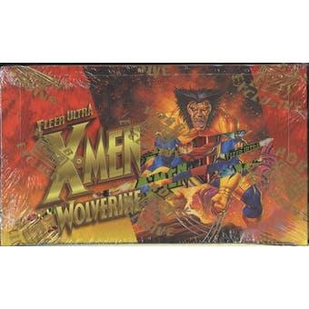 X-Men Wolverine Hobby Box (1996 Fleer Ultra)