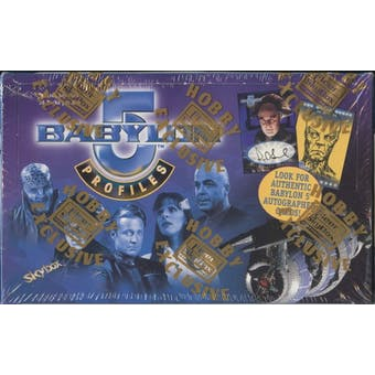 Babylon 5 Profiles Hobby Box (1999 Skybox)