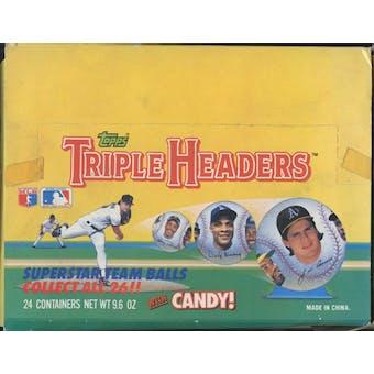 1992 Topps Triple Headers Baseball Box