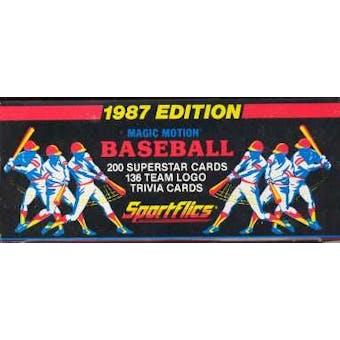 1987 Sportflics Baseball Factory Set