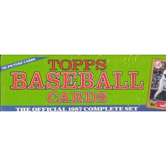 1987 Topps Baseball Factory Set (Christmas Set)