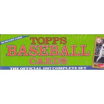 1987 Topps Baseball Factory Set (Christmas Set)