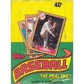 1987 Topps Baseball Wax Box (Factory Sealed-Very Scarce!)