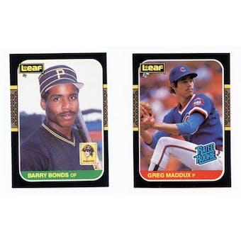 1987 Donruss Leaf Baseball Complete Set (NM-MT)