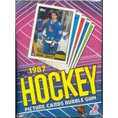 1987/88 Topps Hockey Wax Box BBCE (Reed Buy)