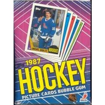 1987/88 Topps Hockey Wax Box