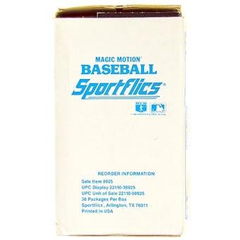 1987 Sportflics Baseball Wax Box