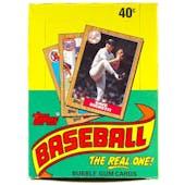 1987 Topps Baseball Wax Box (Reed Buy)