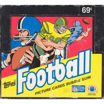 1987 Topps Football Cello Box