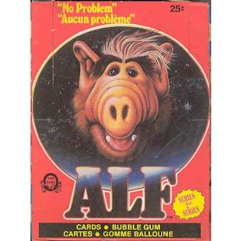 Alf Series 2 Trading Card Box (1988 O-Pee-Chee)