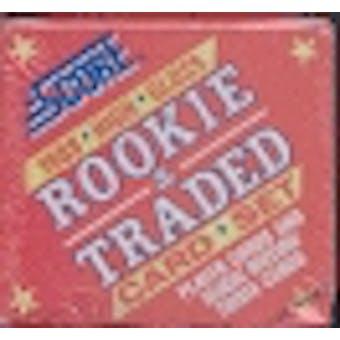 1988 Score Traded & Rookies Glossy Baseball Factory Set