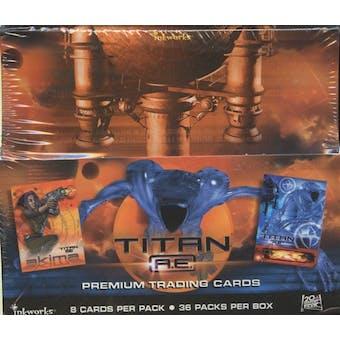 Titan A.E. Movie Hobby Box (2000 Inkworks)