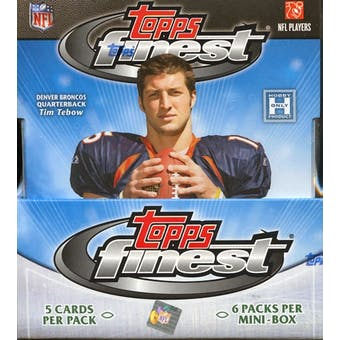 2010 Topps Finest Football Hobby Box