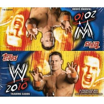 2010 Topps WWE Wrestling 24-Pack Box