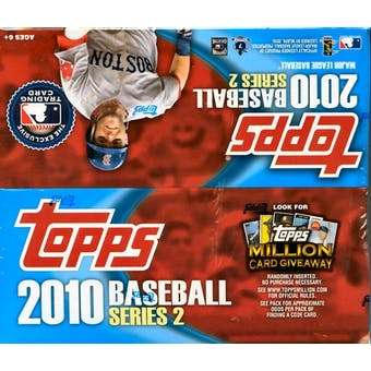 2010 Topps Series 2 Baseball 24-Pack Box