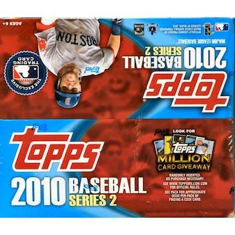 2010 Topps Series 2 Baseball 24-Pack Box