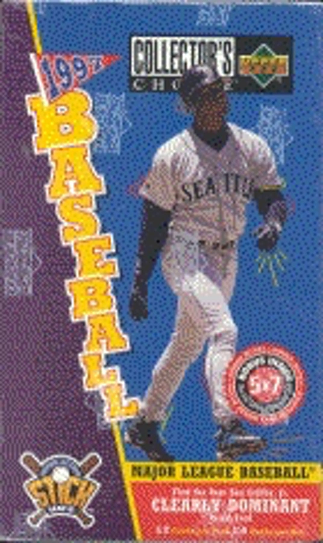 1997 Upper Deck Collectors Choice Series 1 Baseball Hobby Box Da