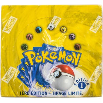 Pokemon Base Set 1 French Booster Box - 1st Edition