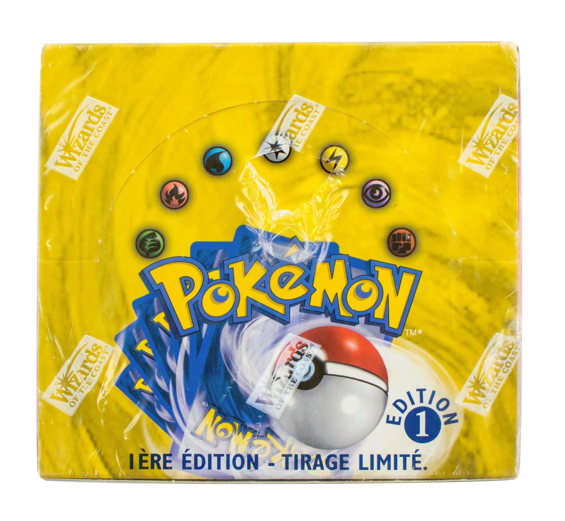 Pokemon Base Set 1 French Booster Box - 1st Edition | DA