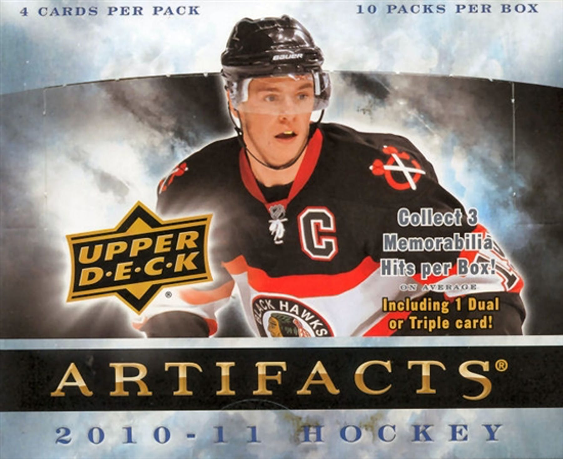 201011 Upper Deck Artifacts Hockey Hobby Box Da Card