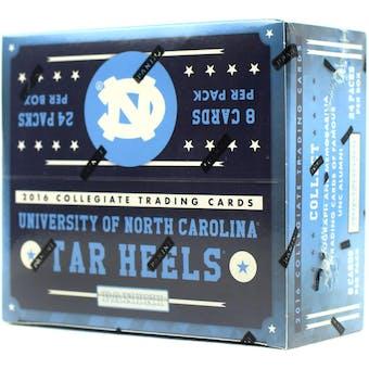 2016 Panini North Carolina Tarheels Multi-Sport 24-Pack Box