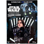 Star Wars Rogue One Series 1 10-Pack Box (Topps 2016)