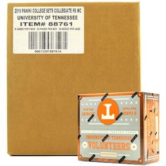 2016 Panini Tennessee Volunteers Multi-Sport 24-Pack 20-Box Case