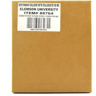 2016 Panini Clemson Collegiate Multi-Sport 24-Pack 20-Box Case
