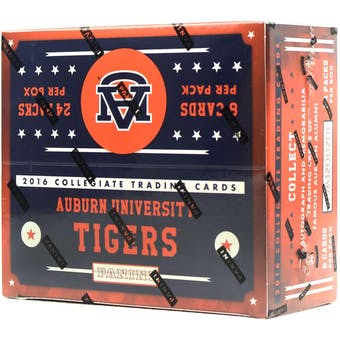 2016 Panini Auburn Tigers Multi-Sport 24-Pack Box