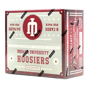 2016 Panini Indiana Collegiate Multi-Sport 24-Pack Box