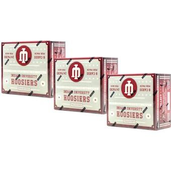 2016 Panini Indiana Hoosiers Multi-Sport 24-Pack Box (Lot of 3)