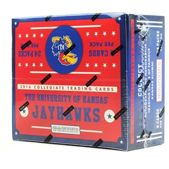 2016 Panini Kansas Jayhawks Multi-Sport 24-Pack Box