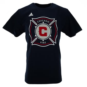 Chicago Fire Adidas Navy The Go To Tee Shirt (Adult S)