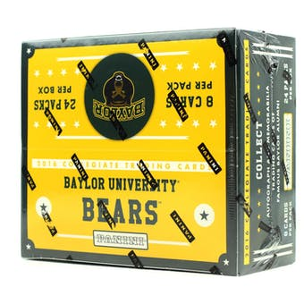 2016 Panini Baylor Collegiate Multi-Sport 24-Pack Box