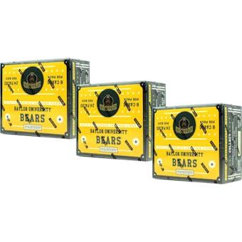 2016 Panini Baylor Bears Multi-Sport 24-Pack Box (Lot of 3)