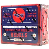 2016 Panini Mississippi Collegiate Multi-Sport 24-Pack Box