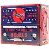 2016 Panini Mississippi Rebels Multi-Sport 24-Pack Box