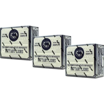 2016 Panini Penn State Nittany Lions Multi-Sport 24-Pack Box (Lot of 3)