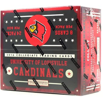 2016 Panini Louisville Cardinals Multi-Sport 24-Pack Box