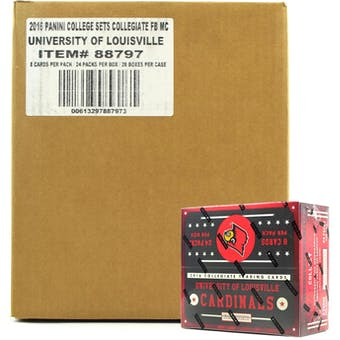 2016 Panini Louisville Cardinals Multi-Sport 24-Pack 20-Box Case