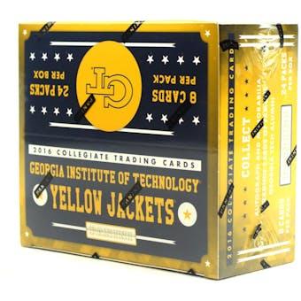 2016 Panini Georgia Tech Yellow Jackets Multi-Sport 24-Pack Box