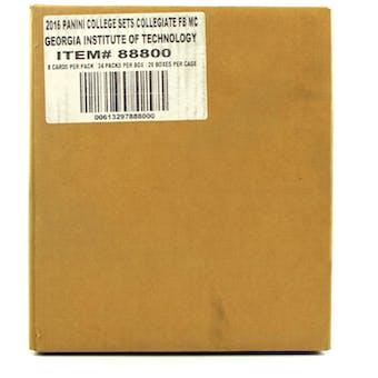 2016 Panini Georgia Tech Collegiate Multi-Sport 24-Pack 20-Box Case