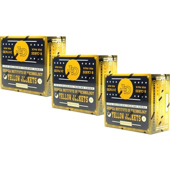 2016 Panini Georgia Tech Yellow Jackets Multi-Sport 24-Pack Box (Lot of 3)