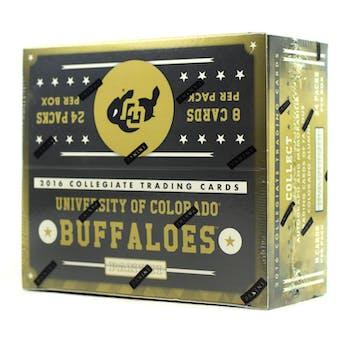 2016 Panini Colorado Buffaloes Multi-Sport 24-Pack Box