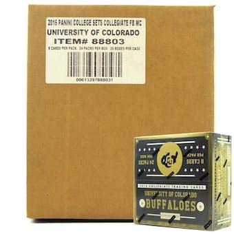 2016 Panini Colorado Buffaloes Multi-Sport 24-Pack 20-Box Case