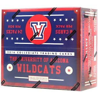 2016 Panini Arizona Wildcats Multi-Sport 24-Pack Box